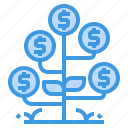banking, currency, growth, money, payment icon