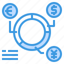 analysis, banking, currency, money, payment, report icon