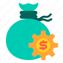 banking, currency, loan, money, payment, saving icon