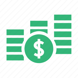 banking, business, buy, cash, cent, coin, coins, currency, dollar, finance, financial, money, shopping icon