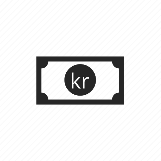 denmark krone, money, payment icon
