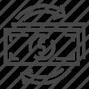 cash, exchange, money icon