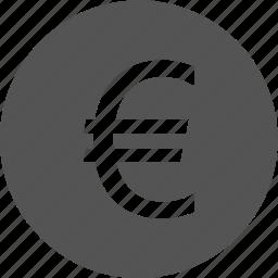 business, commerce, euro, finance, money icon