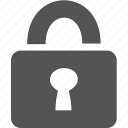 key, lock, password, security icon