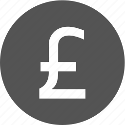 business, commerce, finance, gbp, money icon