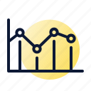analysis, chart, graph, planning icon