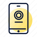 smartphone, virtual, wallet icon