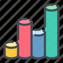 analytics, chart, graph, graphic, statistics, stats icon