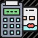 banking, card, credit, exchange, money, pos, terminal icon