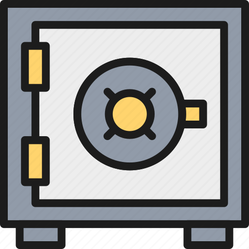 Bank, box, exchange, money, safe, security, strongbox icon - Download on Iconfinder