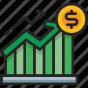 increase, graph, diagram, profit, growth, business, statistic