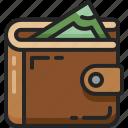 wallet, pocket, billfold, money, cash, purse