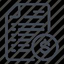 bill, dollar, insurance, invoice, money, payment, tax