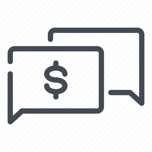 chat, dollar, money, pay, payment, send, transaction icon