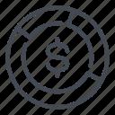 analytics, chart, diagram, dollar, finance, marketing, money icon