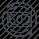 change, dollar, exchange, money, note icon