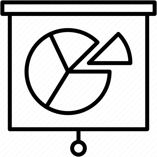 chart, diagram, pie, planning icon
