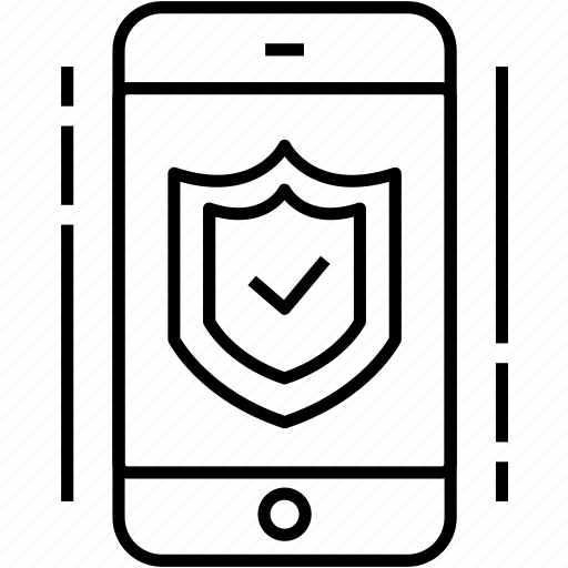 encryption, mobile, protection, security icon