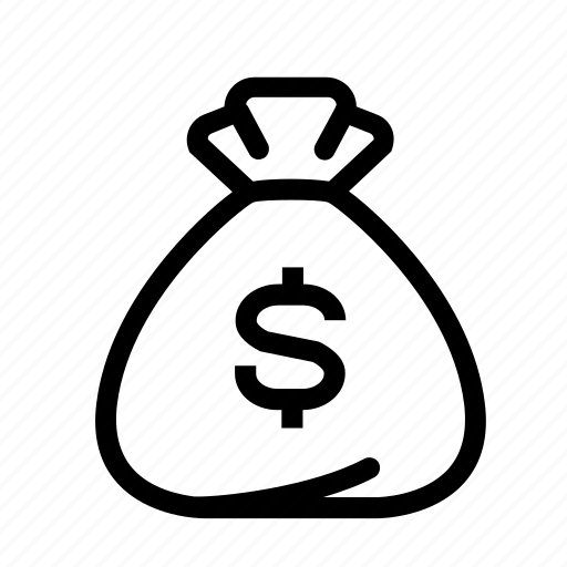 bag, business, currency, dollar, dollar bag, finance, money icon