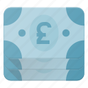 currency, money, pack, payment, puund, stack icon