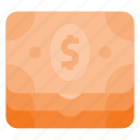 currency, dollar, money, pack, payment, stack icon
