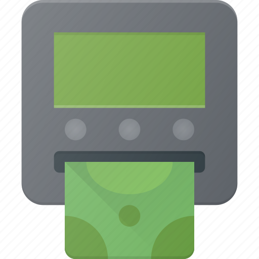 Atm, banking, card, credit, money, payment, withdraw icon - Download on Iconfinder