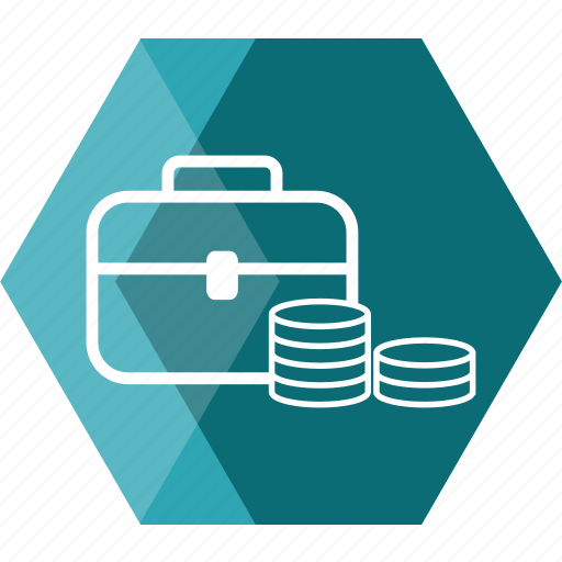 bag, business, cash, coin, financial, money, wallet icon