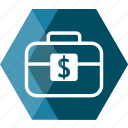 bag, basket, business, currency, exchange, money, wallet icon