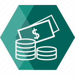 bank, cash, coin, currency, dollar, money, payment icon