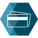 bank, card, cash, credit, credit card, id card, money icon