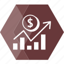 business, dollar, ecommerce, exchange, finance, money, payment icon