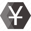 bank, finance, financial, monetary, money, price, yen icon
