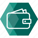bag, bank, cart, cash, currency, money, wallet icon