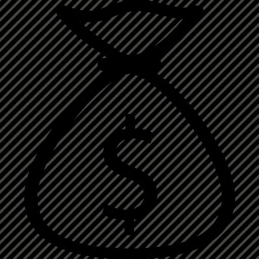 bag, basket, cash, coin, money, price, wallet icon