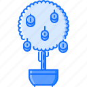 coin, economy, finance, money, profit, tree icon