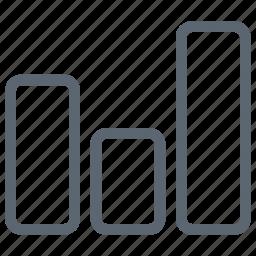 analysis, bar, block, chart, diagram, graph, statistics icon