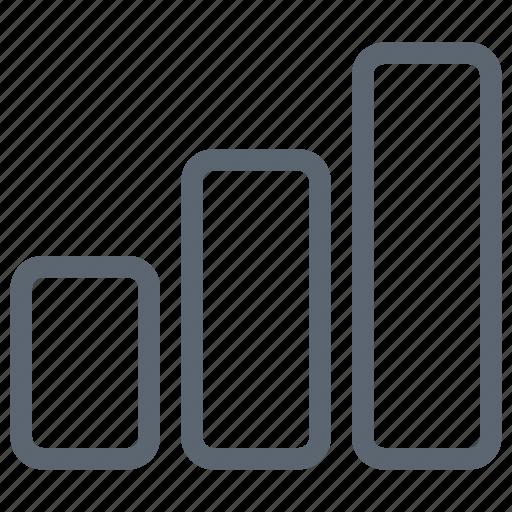 analysis, bar, block, chart, data, graph icon