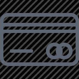 bank, banking, card, credit, debit, money, shopping icon