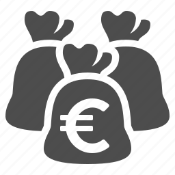 bag, bank, banking, euro, finance, money, moneybag icon