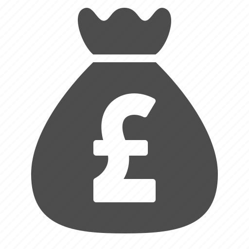 bag, bank, banking, finance, money, moneybag, pound icon