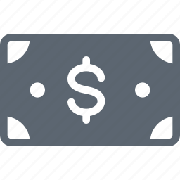 bill, cash, dollar, money, payment icon