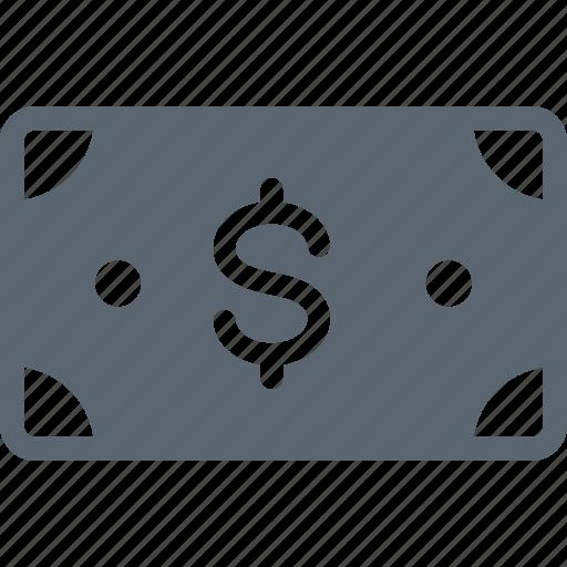 bill, cash, dollar, money, payment icon
