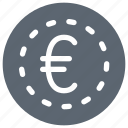 euro, cash, coin, currency, finance, money