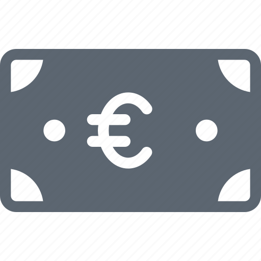 Bill, euro, cash, currency, finance, money, payment icon - Download on Iconfinder