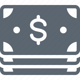 banking, cash, dollar, finance, financial, money, payment icon