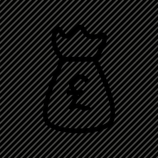 bag, cash, currnecy, money, saving icon