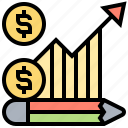 adjustable, costs, expense, flexible, payment icon