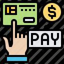 deduction, remaining, net, amount, pay icon