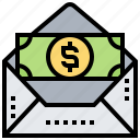 income, money, paycheck, payday, salary icon