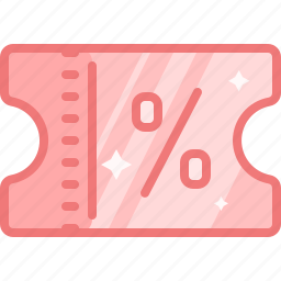 coupon, discount, price, sale, shopping, tag, voucher icon